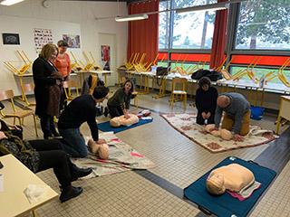 Prévention et secours civiques de niveau 1 pour tous à La Malgrange !