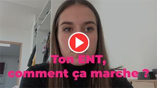 Vidéo : Emma élève en 1ère générale au lycée Saint Léon IX à Nancy vous raconte comment elle vit l'école à la maison pendant le confinement.